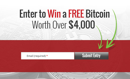 Enter to Win a Free Bitcoin Worth Over $4,000