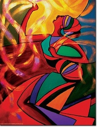 Lord of the Dance by Linda Harris-Iorio
