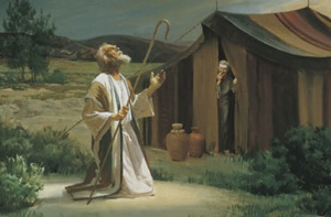 Abraham grabbed onto the promises of God