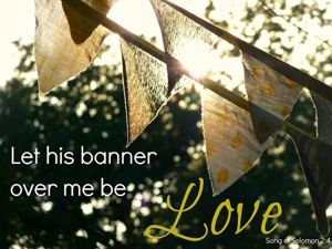 We carry the King's banner of love