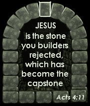 Jesus is the Capstone