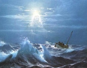 The winds and waves of the sea convinced them of their dependence upon God.