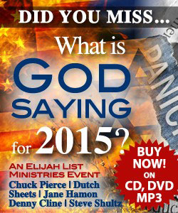 "Did You Miss ""What Is God Saying For 2015?"" Buy Now On CD, DVD, or MP3"