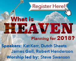 Register today for What is Heaven Saying For 2018?